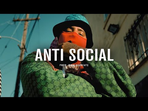 "[FREE] Drake Type  Beat ""ANTI SOCIAL"" Free Trap Beat  2021 – Rap/Trap Instrumental"