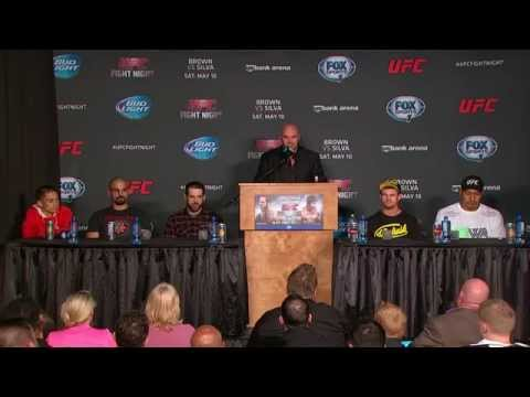 UFC Fight Night: Brown vs. Silva Post Fight Presser