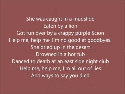 Train- 50 Ways To Say Goodbye (with Lyrics)