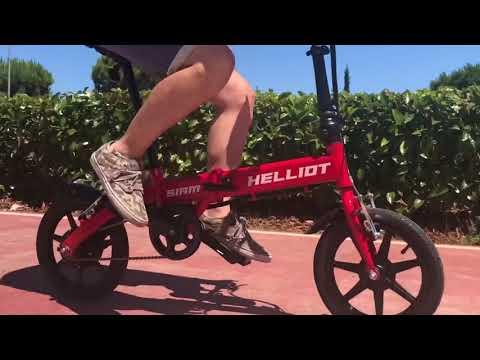 Bicicleta Eléctrica Plegable - Siam Roja