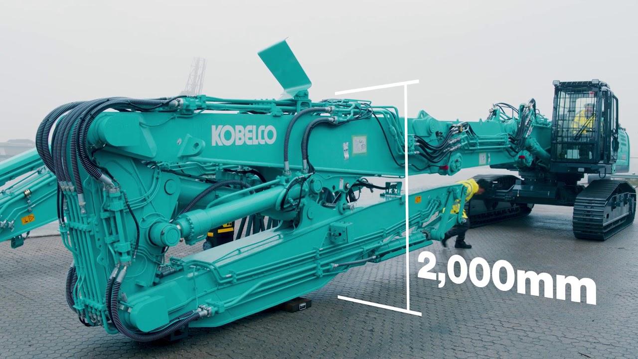 Kobelco SK400DLC - demolition machine