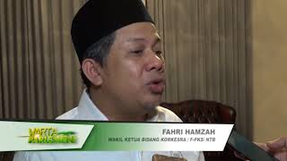 NARSUM : FAHRI HAMZAH / Wakil Ketua DPR RI / KORKESRA / FPKS / Dapi...