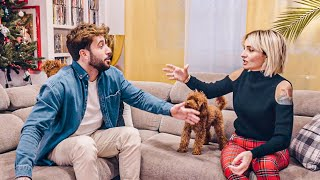VERONICA & ANDREAS LITIGANO PER 15 MINUTI 😂 | HOME TOUR 2021