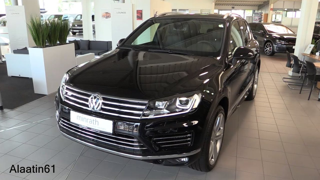 volkswagen touareg r line 2017 in depth review interior. Black Bedroom Furniture Sets. Home Design Ideas