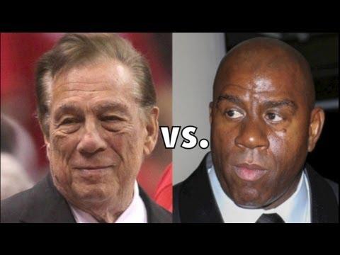 Magic Johnson VS. Donald Sterling! Why Won't Sterling SHUT UP?!