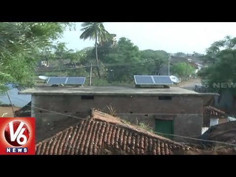 Special Ground Report On Solar Power Village Banjerupalli In Karimnagar Dist | V6 News