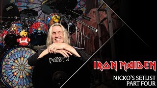 Iron Maiden - Nicko's Setlist, Part 4