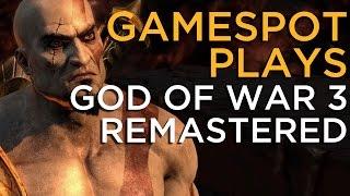 God of War 3 Remastered - GameSpot Plays