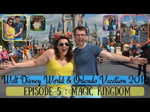 BRAND NEW WALT DISNEY WORLD & ORLANDO VACATION VLOG 2016 | MAGIC KINGDOM | KRISPYSMORE