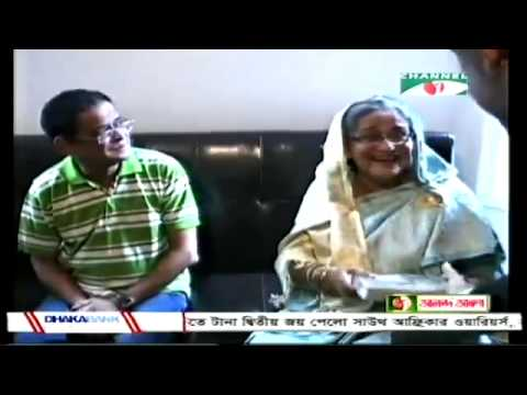 Sheikh Hasina visited Humayun Ahmed At NY
