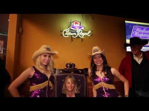 Crown Royal Club at NFR 2013 Thomas & Mack Las Vegas