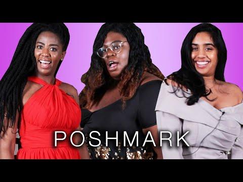 Women Try Prom Dresses From Poshmark