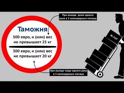 Что МОЖНО и НЕЛЬЗЯ ввозить и вывозить из ЕС в Беларусь