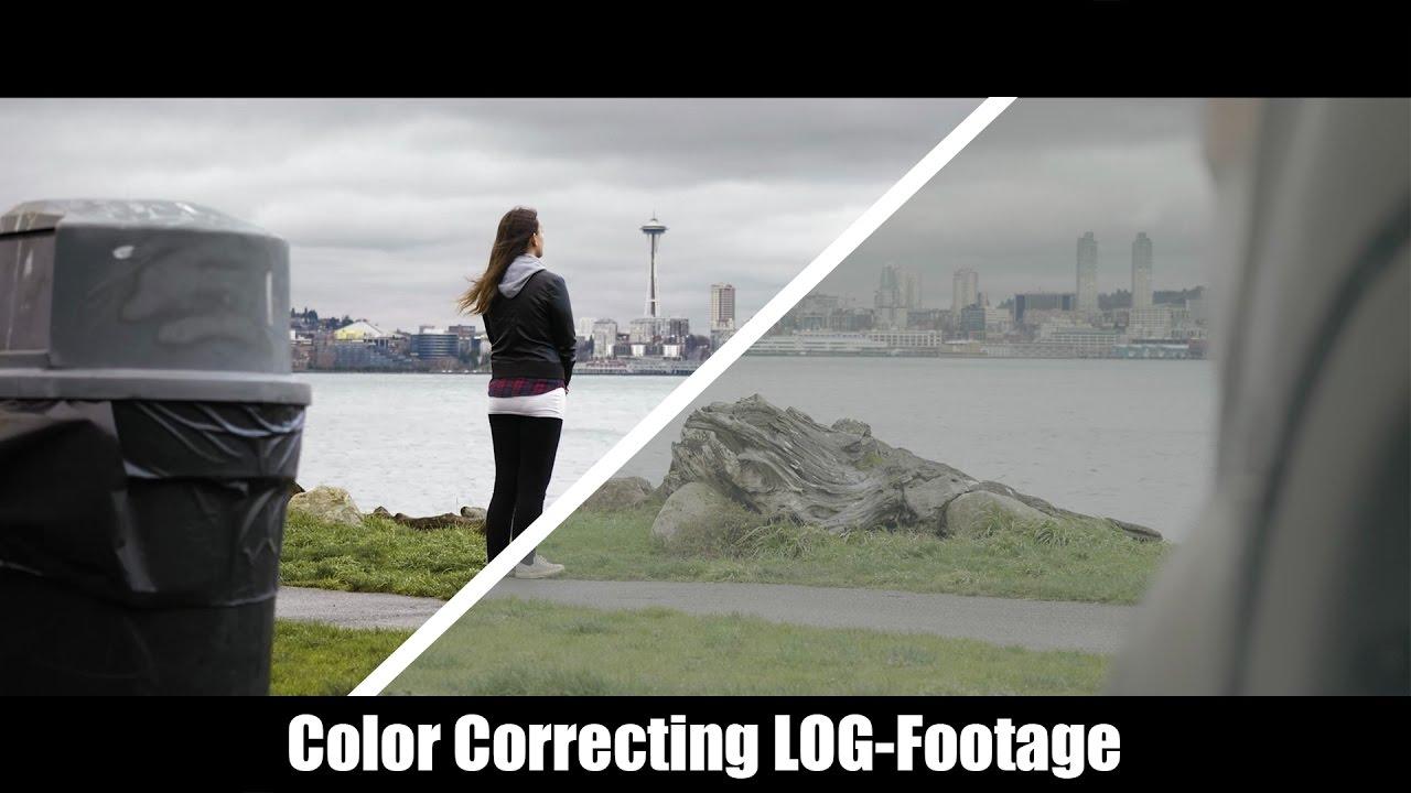 Wie gradet man LOG-Aufnahmen zu Rec. 709 - Basic Farbkorrektur ...