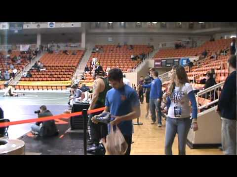 Wrestling Smelly Knee Pads at Nationals.mpg