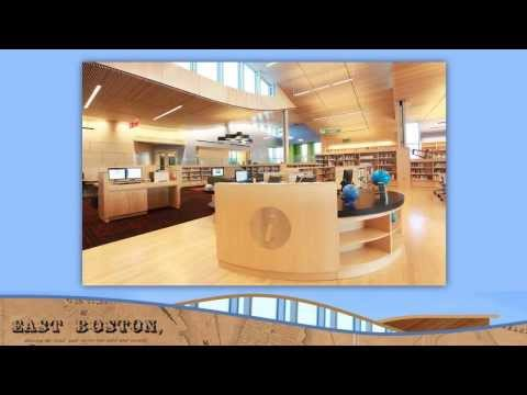 East Boston Branch of the Boston Public Library Opening Day