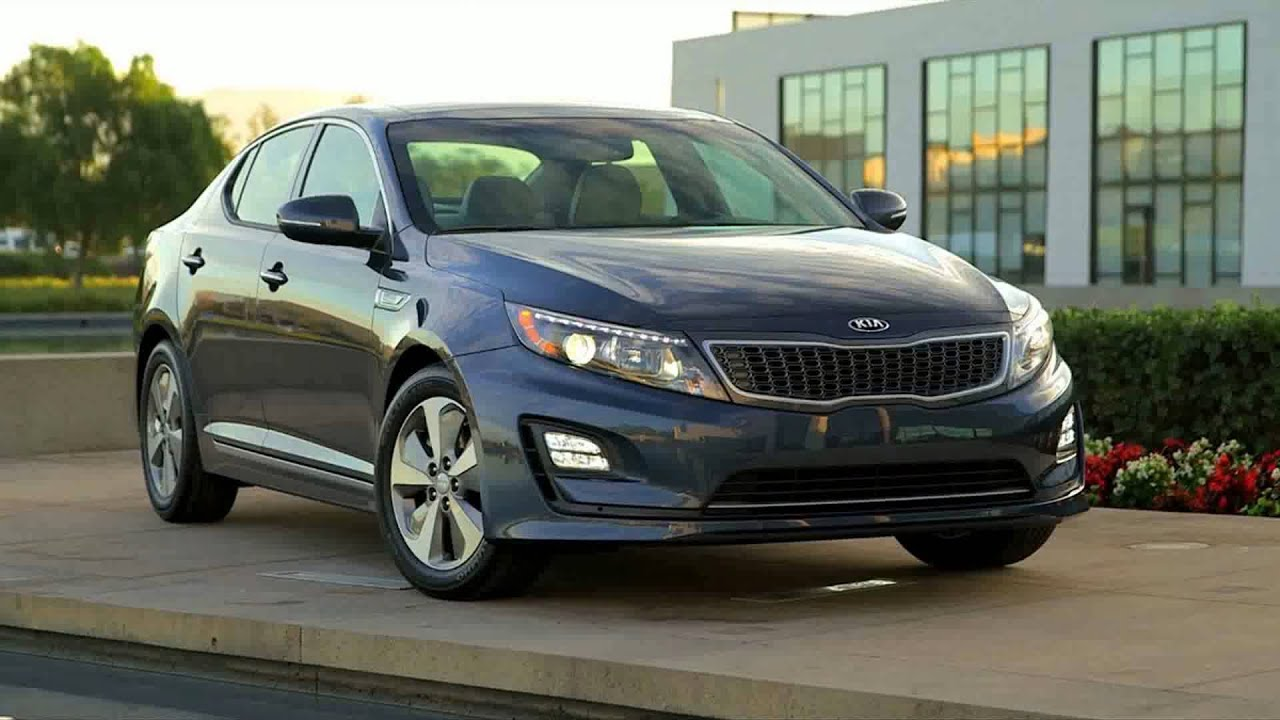 white free hybrid kia optima new