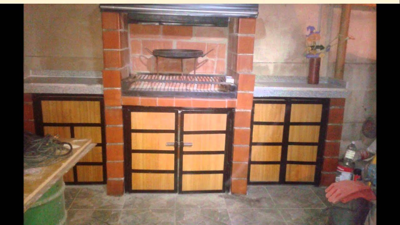 Como hacer un quincho o una buena parrilla de ladrillos for Construccion de chimeneas de ladrillo