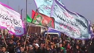 Irak: immense pèlerinage chiite sous haute tension thumbnail
