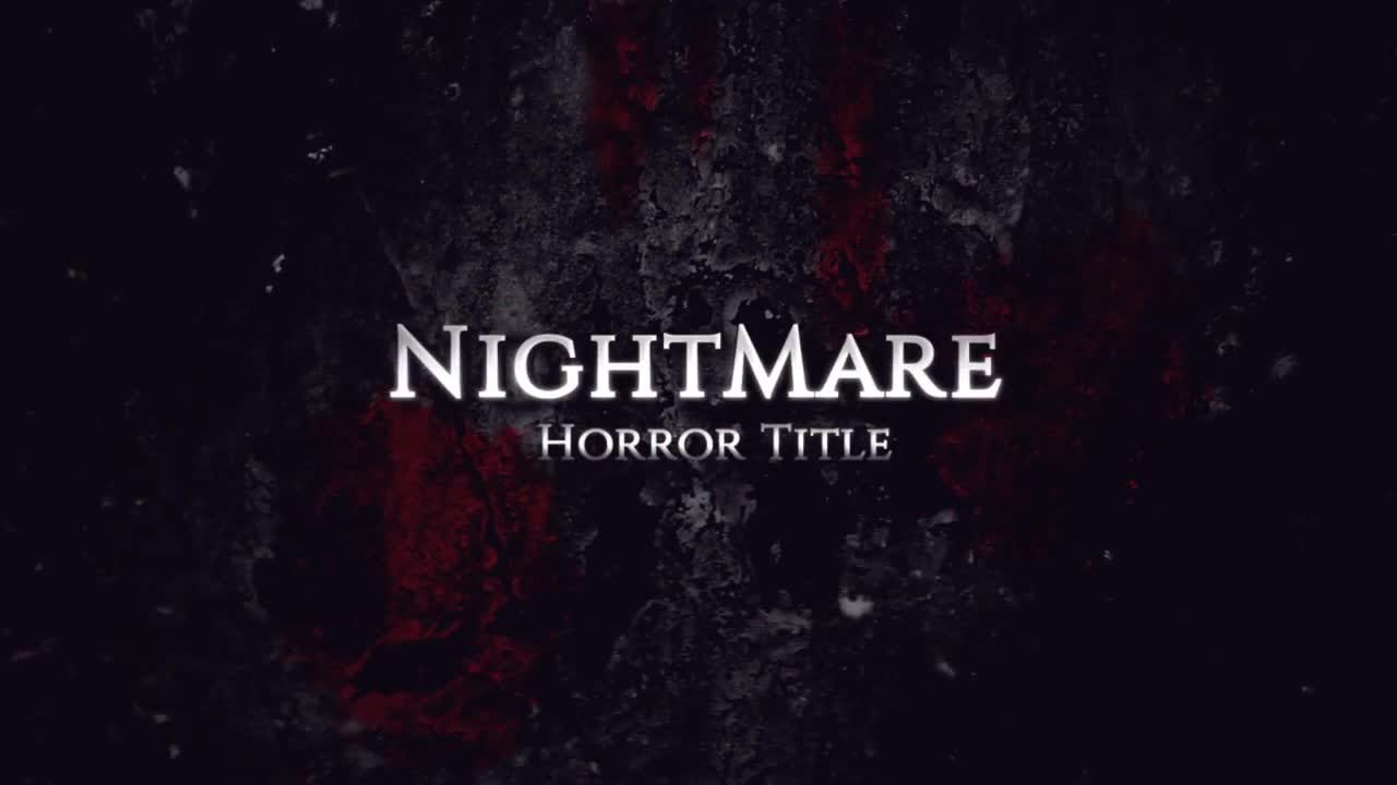 Horror Title After Effects Templates - YouTube