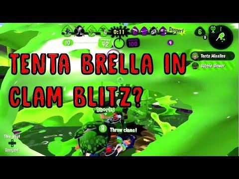 Clam Blitz and Tenta Brella Dumo Plays Splatoon 2  