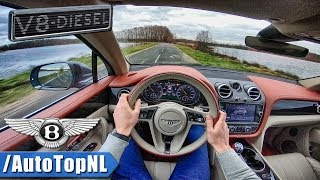 Bentley Bentayga V8 Diesel POV Test Drive by AutoTopNL