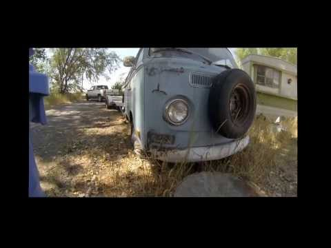 VW Bus Rescued from the land of Goshen