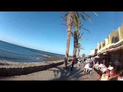 Teneriffa 2015 - Strandpromenaden (Löparperspektiv, kort)