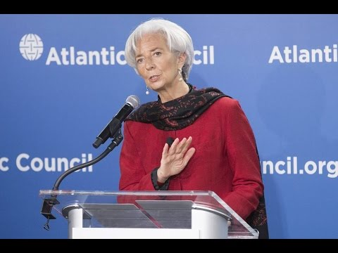 Christine Lagarde Speech Global Economy 2015 Dong Devaluation Update