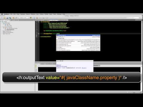 JSF 2.2 : Displaying UI Elements : Part 1 : H OutputText And Rendered