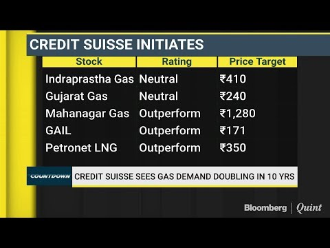 Credit Suisse Sees Gas Demand Doubling In 10 Years