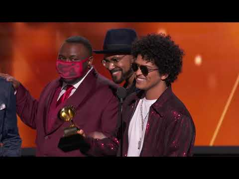 Bruno Mars Wins Song Of The Year | Acceptance Speech | 60th GRAMMYs