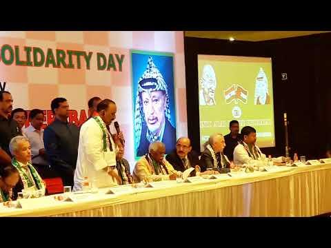 Indo Arab Palestine Solidarity Day Organised by  Indo Arab League Hyderabad
