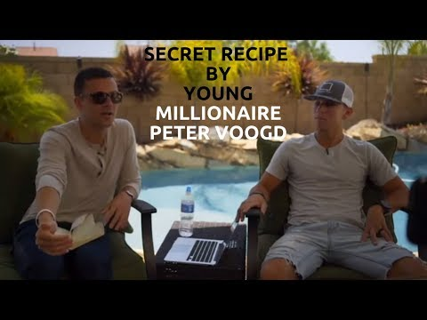 How to Become a Millionaire in 5 Weeks | Secret by Young Millionaire Peter Voogd