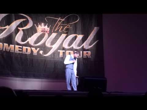 Tony Rock Royal Comedy Tour Wash DC 3/22/13