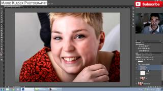 How To Work Non-Destructive In Frequency Separation In Photoshop