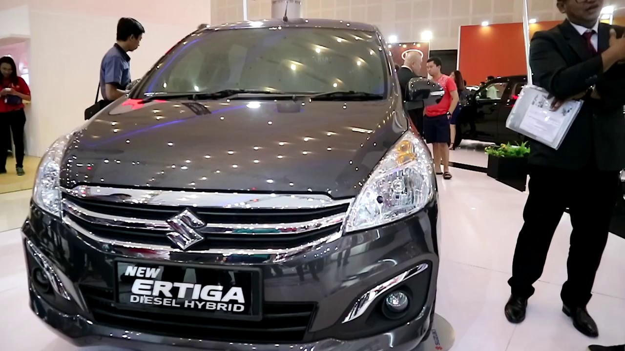 suzuki new ertiga diesel hybrid 2018 exterior and. Black Bedroom Furniture Sets. Home Design Ideas