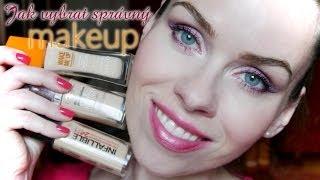 Jak vybrat správný makeup (výběr dle typu pleti, odstín, světlo, kde zkoušet atd.)
