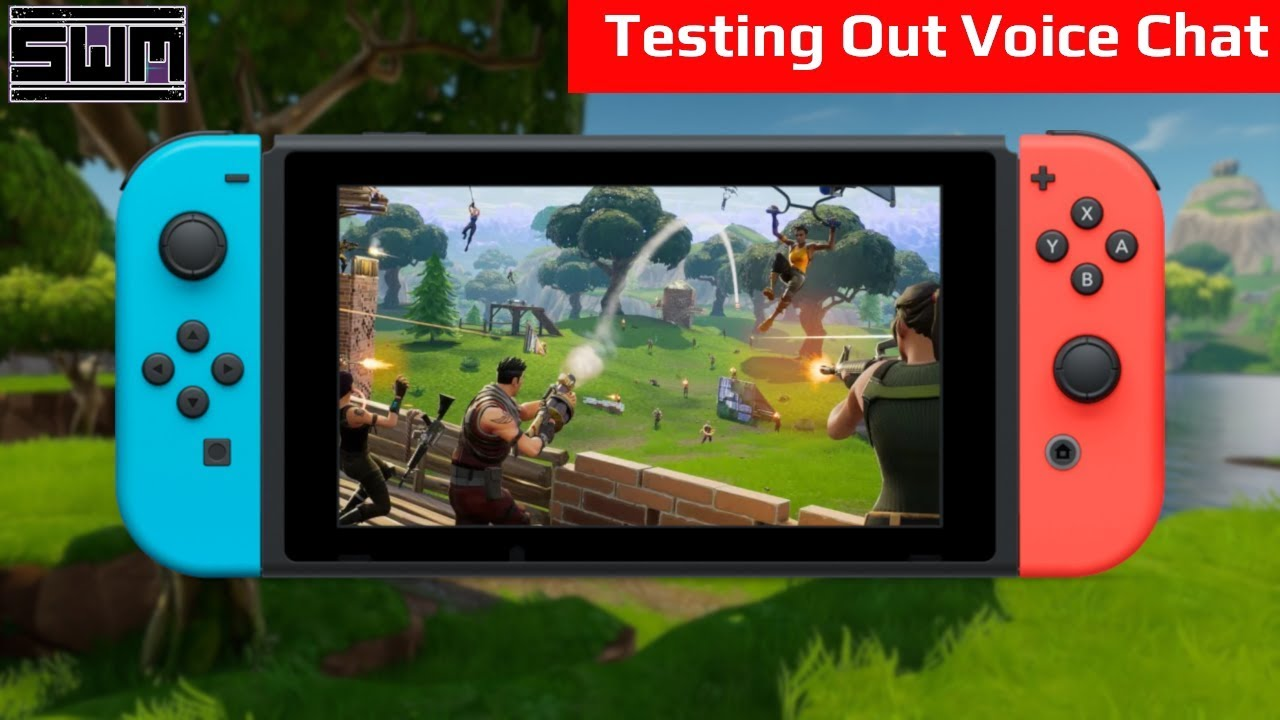 Fortnite Switch Now Has Native Voice Chat, Let's Try It Out!