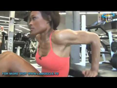 Work-Out With Fitness Godess Alicia Marie- Bikini Fundamentals!  Part 2
