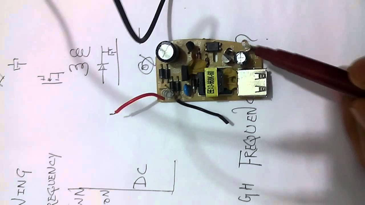 Usb Car Charger Adapter Circuit Design Schematic Explained Inside A Cell Phone Youtube