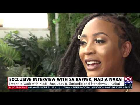 Exclusive Interview with South African Rapper, Nadia Nakai - JoyNews Interactive (3-2-21)
