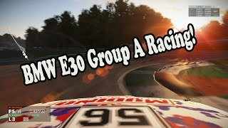 Project Cars - Online Racing - Huge pile up! - BMW E30 Group A