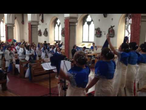 El Shaddai Newcastle Chapter UK 10th Thanks Giving Anniversary Joyful Songs Medley