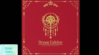 Dreamcatcher (드림캐쳐) ('special mini album'[raid of dream]) audio track list: 1. intro 2. deja vu (테 자부) 3. the curse spider (거미의 저주) 4. silent night 5....