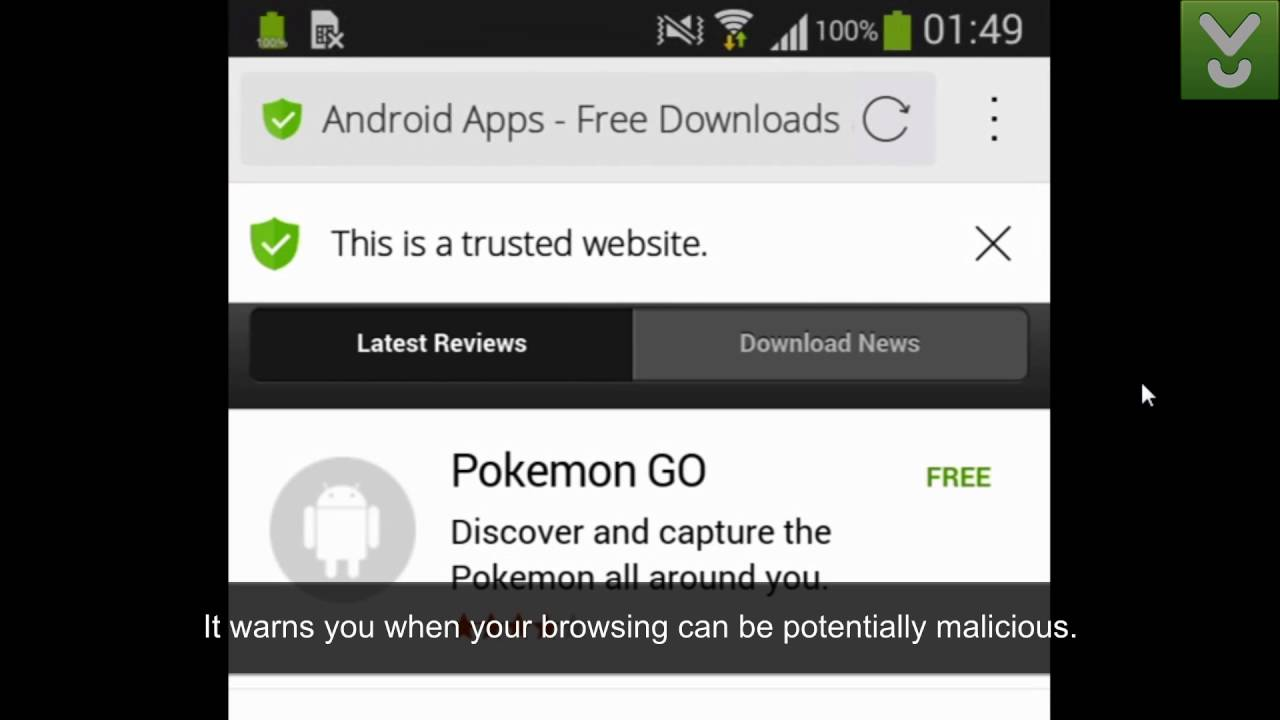 Cm Secure Browser Browse The Web While Protecting Your Android Device Download Previews
