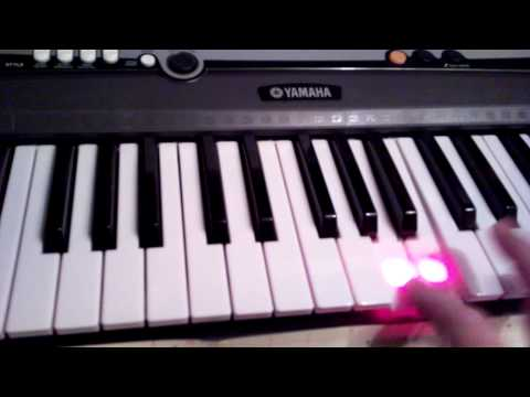 My first day of playing with Yamaha EZ200