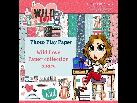 Photo Play Wild Love Paper Collection Share