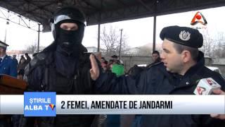 Doua femei, amendate de jandarmi