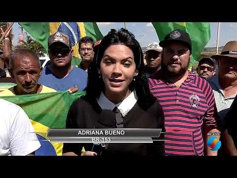 JMD (26/05/18) - Sexto dia de protestos dos caminhoneiros em Goiás